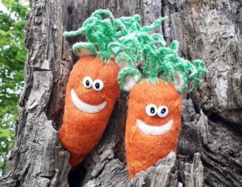 Ohrrüben im Baum